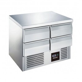 Blizzard BCC2-4D Four Drawer 240 Litre Gastronorm Counter Refrigerator