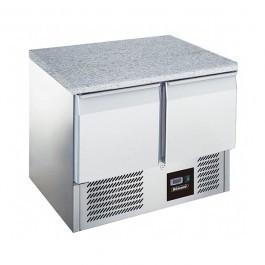 --- BLIZZARD BCC2-GR-TOP --- Twin Door 240 Litre GN Refrigerator with Granite Top