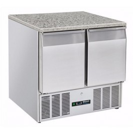 --- BLIZZARD BCC2-GR-TOP-ECO --- Twin Gastronorm Fridge with Granite Worktop