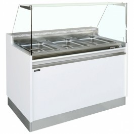 --- Interlevin BELLINI 1250 BM VVR --- Hot Serve Over Counter Bain Marie