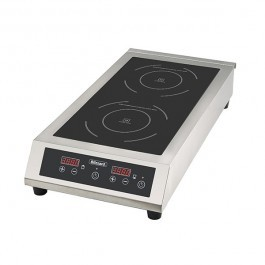 Blizzard BIH2 Table Top 6000W Twin Induction Hob with Touch Controls