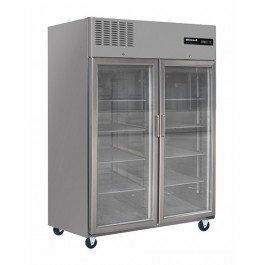 --- BLIZZARD BL2SSCR --- Upright Gastronorm 2/1 Double Door Display Freezer