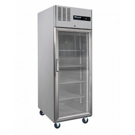 Blizzard BH1SSCR Upright Gastronorm 2/1 Single Door Display Refrigerator