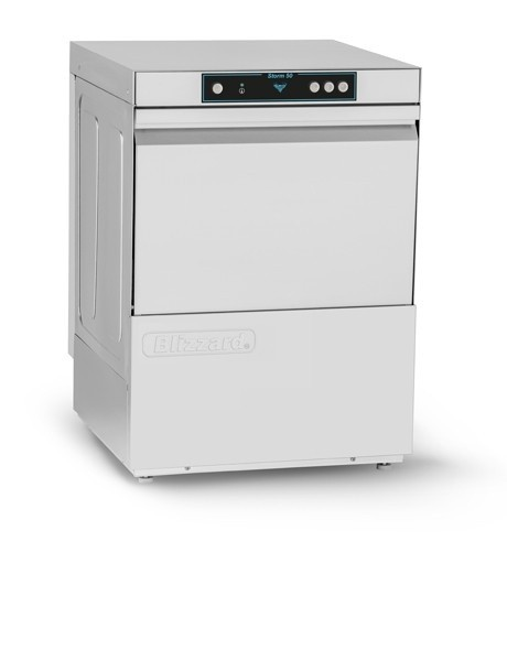 --- BLIZZARD STORM50 --- Undercounter Glasswasher with Gravity Drain