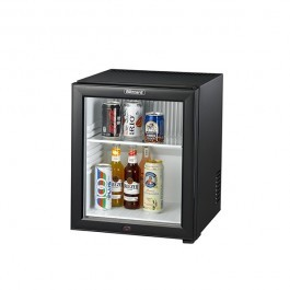 Blizzard BMB30G Black Minibar with Glass Door & LED Lighting