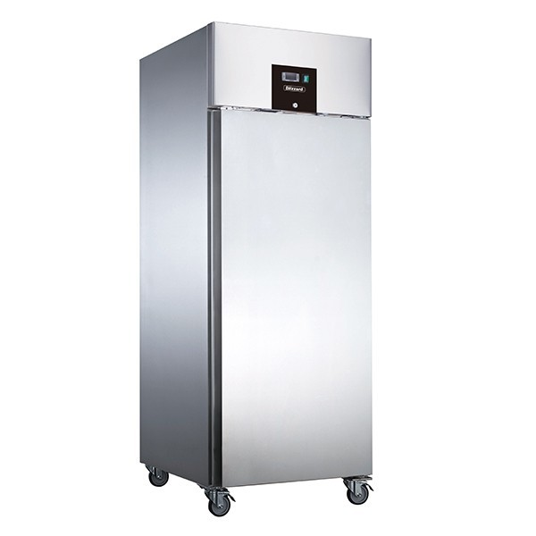 Blizzard BF1SS Single Door Upright Stainless Steel 650 Litre Freezer
