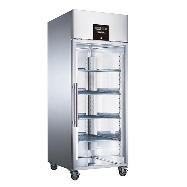 Blizzard BF1SSCR Upright Gastronorm 2/1 Single Door Display Freezer