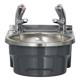 Mechline BSX-300-TX-BD Hand Wash Station with AquaTechnix Dome Taps