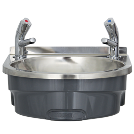 --- MECHLINE BSX-400-TX-BD --- Hand Wash Station with AquaTechnix Dome taps
