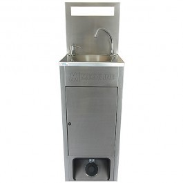 Mechline BSX-MHB-X Mobile Hand Wash Station with Inbuilt Waste and Water