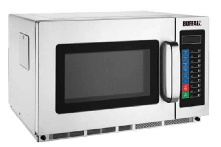 Buffalo FB864 Programmable 1800w Commercial Microwave Oven