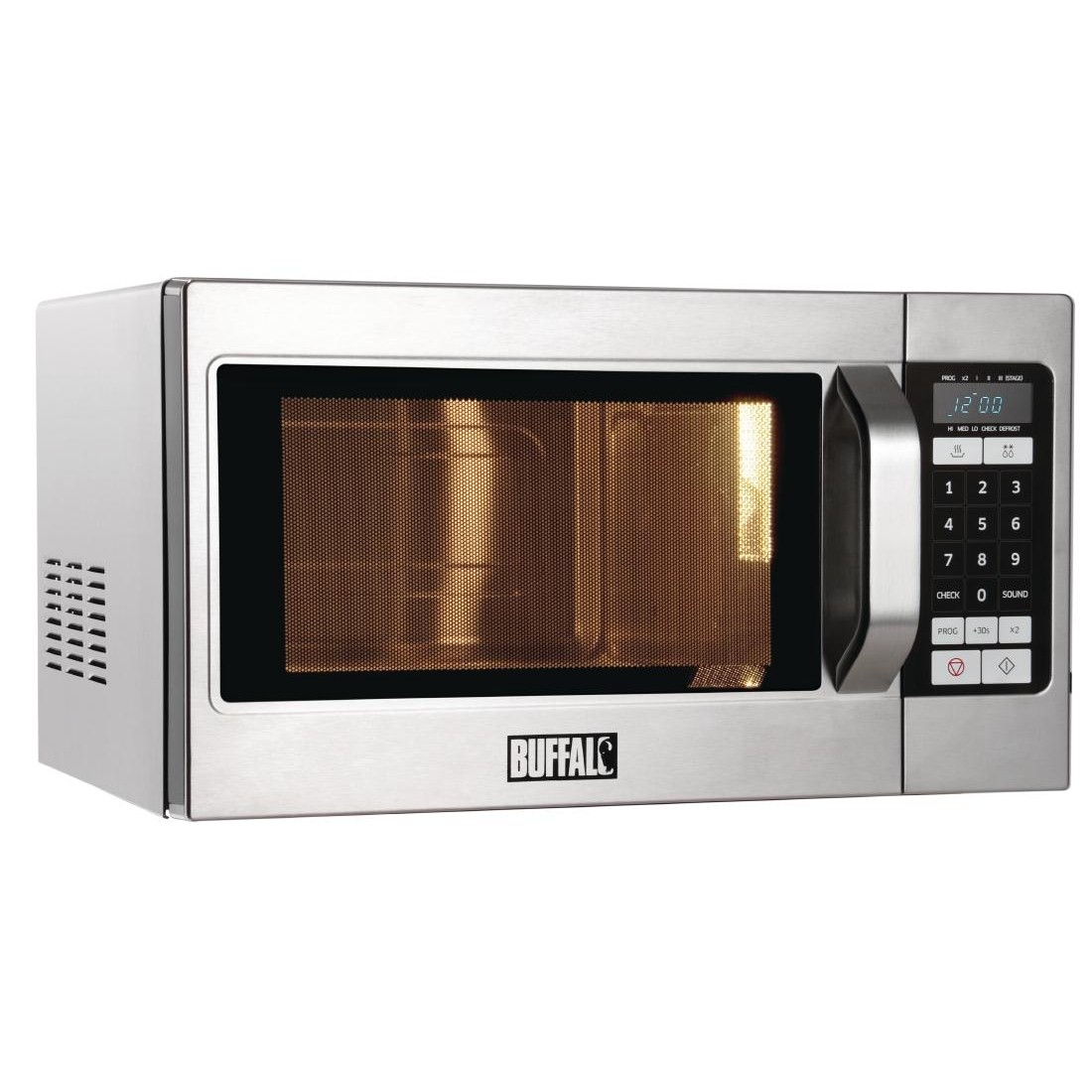 Buffalo GK642 Programmable 1100w Commercial Microwave Oven