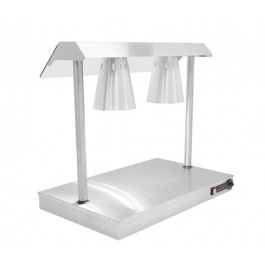 Parry C2LU Heated Carvery Servery Base with Two Heat Lamps