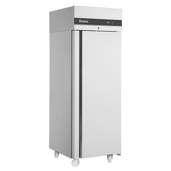 Inomak CAP172SL Stainless Steel Upright Meat Fridge with 4 Shelves - 560L