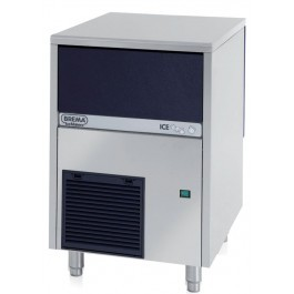 Brema CB416A Undercounter Icemaker with 48kg Output & Gravity Drain