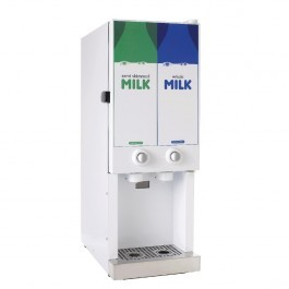 --- AUTONUMIS MINISERVE --- White 2 x 3.0 Litre Milk Dispenser