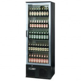--- INFRICO ZXS10 --- Upright Charcoal Bottle Cooler with Aluminium Hinged Door
