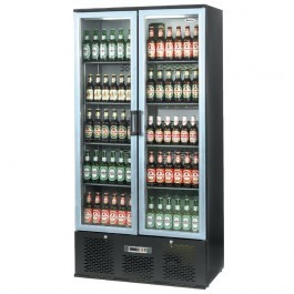 Infrico ZXS20 Upright Charcoal Bottle Cooler with Aluminium Hinged Doors