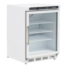 Polar CD086 White Under Counter Display Fridge