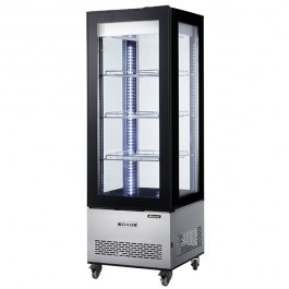 Blizzard CD400L Square Upright Cake Display with Two Adjustable Shelves