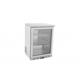 Atosa MBC24G Stainless Steel Undercounter Single Glass Door Fridge