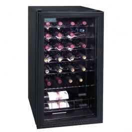 Polar CE203 C-Series Under Counter Black Wine Fridge - 28 Bottles