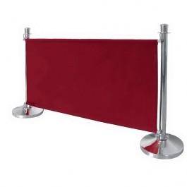 Bolero CF138 Red Canvas Barrier - 1430mm