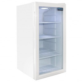 Polar CF750 White Undercounter Display Fridge