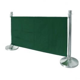 Bolero CG222 Green Canvas Barrier - 1430mm
