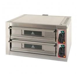 """Zanolli Citizen EP70/2 Twin Deck Electric Pizza Oven 8 x 13"""" Pizzas - 4+4/MC"""