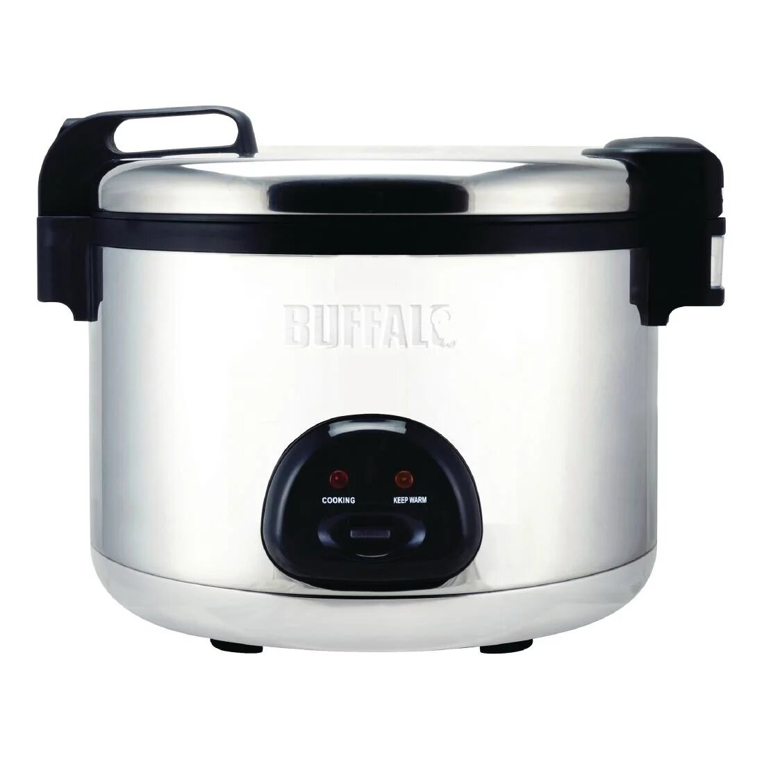 Buffalo CK698 Stainless Steel Non Stick Rice Cooker - 20 Litres