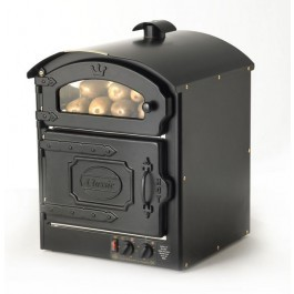 King Edward CLASS25-BLK Classic 25 Black Potato Oven