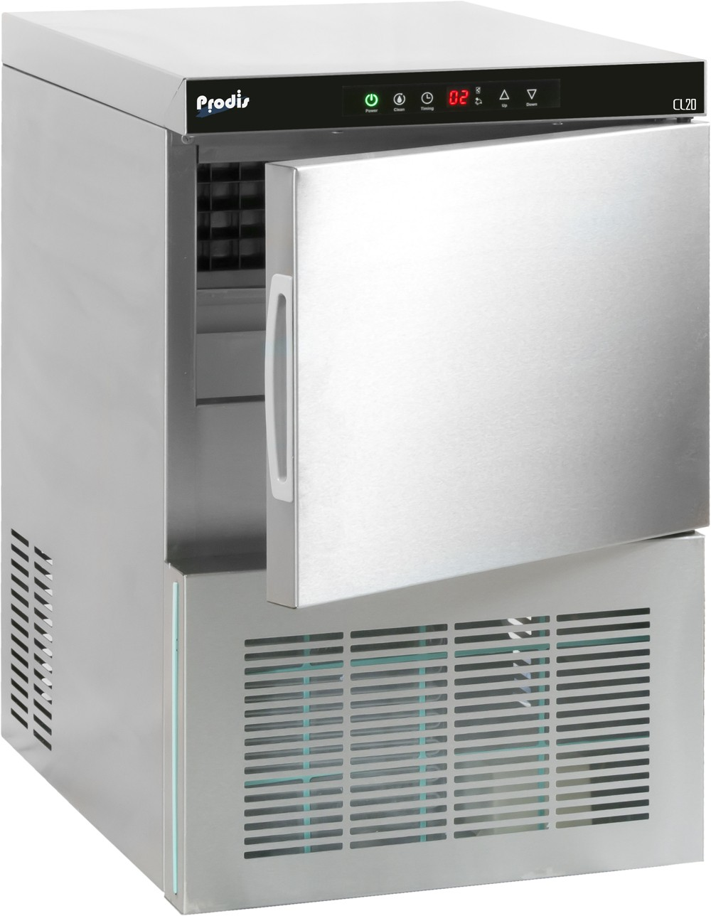 --- PRODIS CL20 --- Compact Under Counter Icemaker with 6kg Storage