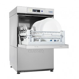 Classeq D400 Standard Front Loading Dishwasher with Gravity Drain