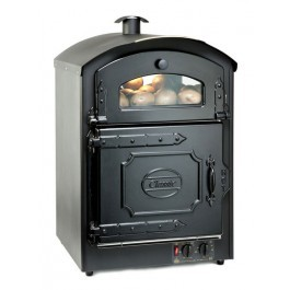 King Edward CLASS50-BLK Classic Black Potato Oven - Capacity 100