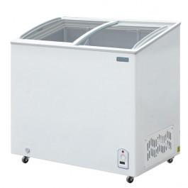 Polar CM433 Glass Lid Chest Freezer