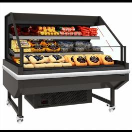 Tefcold LEDA CMW125 Chilled Open Front Mobile Multideck, Base & 2 Shelves