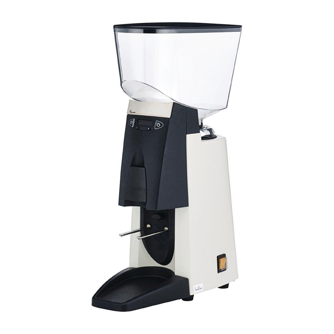 Santos 55WA Barista Silent Espresso Coffee Grinder White Capacity 2.2kg - CP768