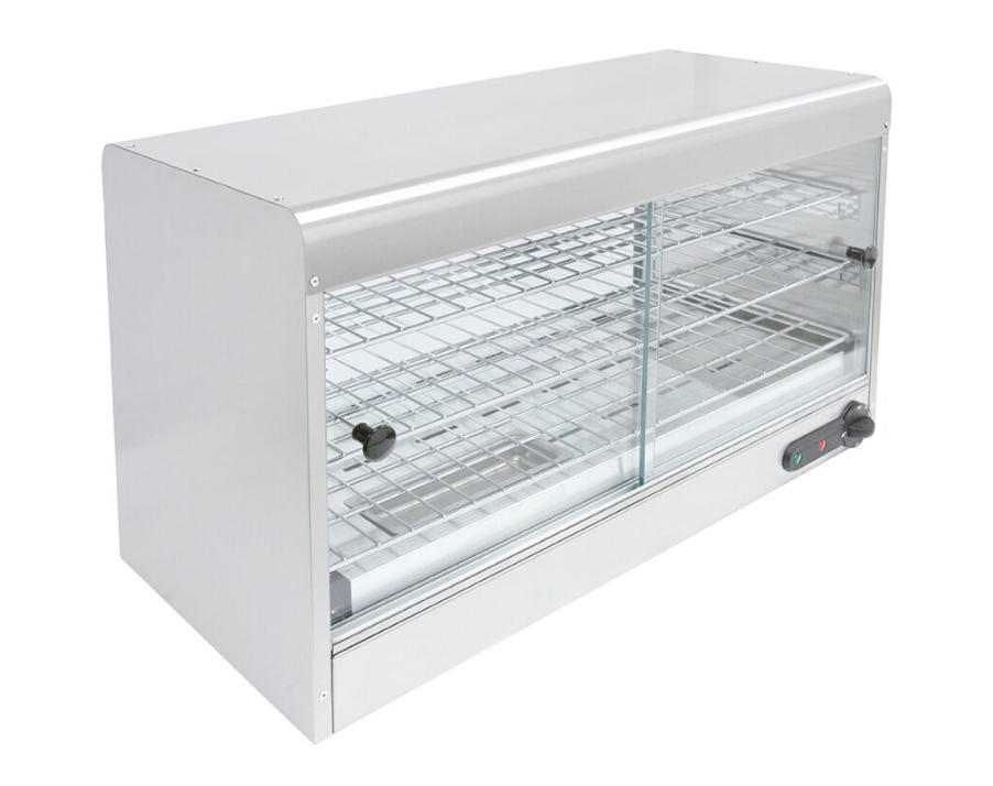 Parry CPC Electric Heated Pie Cabinet with 3 Wire Racks - 60 Pies