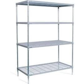 Craven 4 Tier Nylon Coated Wire Shelving