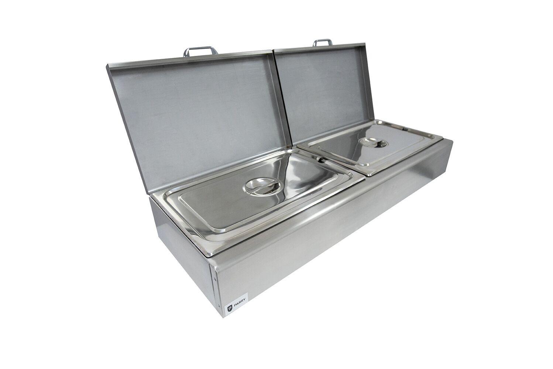 Parry CTBU Buffet Unit  for 6 x GN 1/3 Pans with Drain Tap