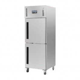 Polar CW194 Stainless Steel Stable Door Gastro Freezer