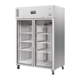 Polar CW198 Upright Double Glass Door Gastro Refrigerator