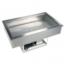 Tefcold CW3 Stainless Steel Drop In Buffet Display