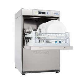 Classeq D400DUO Insulated Dishwasher with 2 Wash Programs & Drain Pump