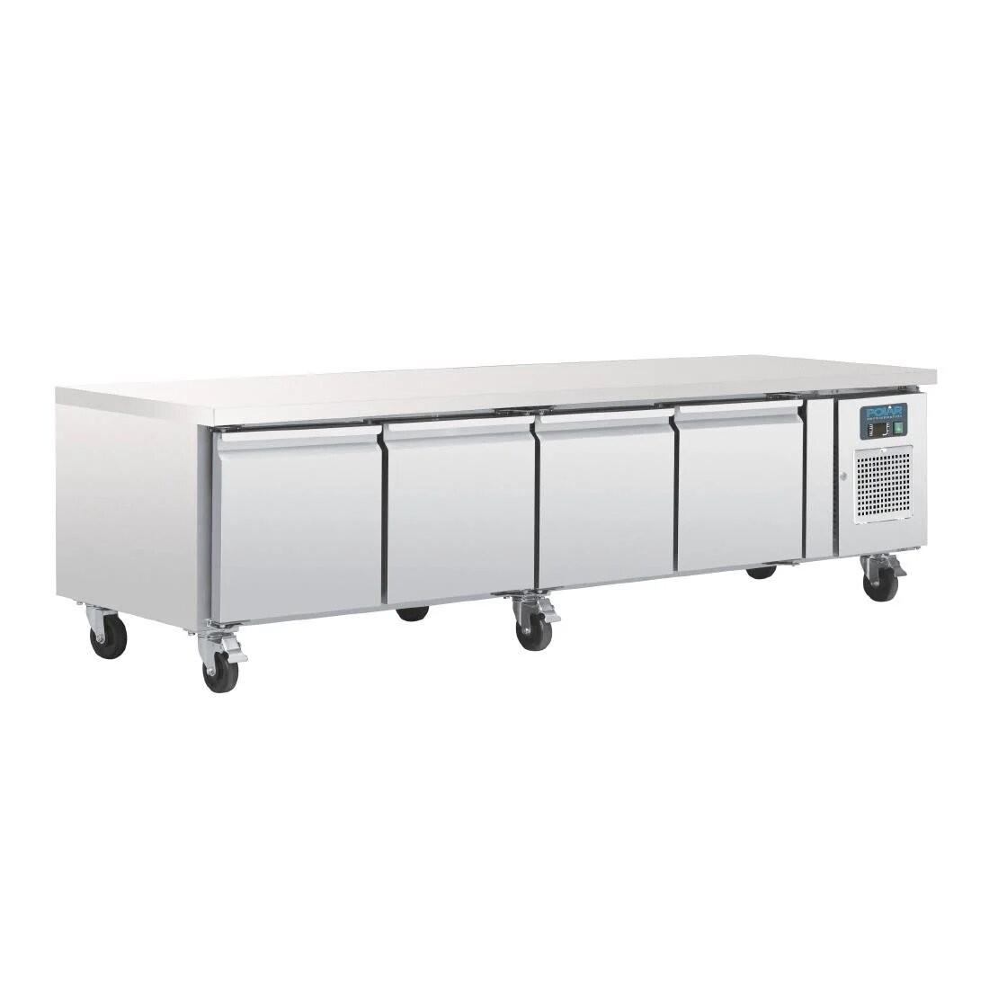 Polar DA464 U-Series Four Drawer Chef Base Fridge
