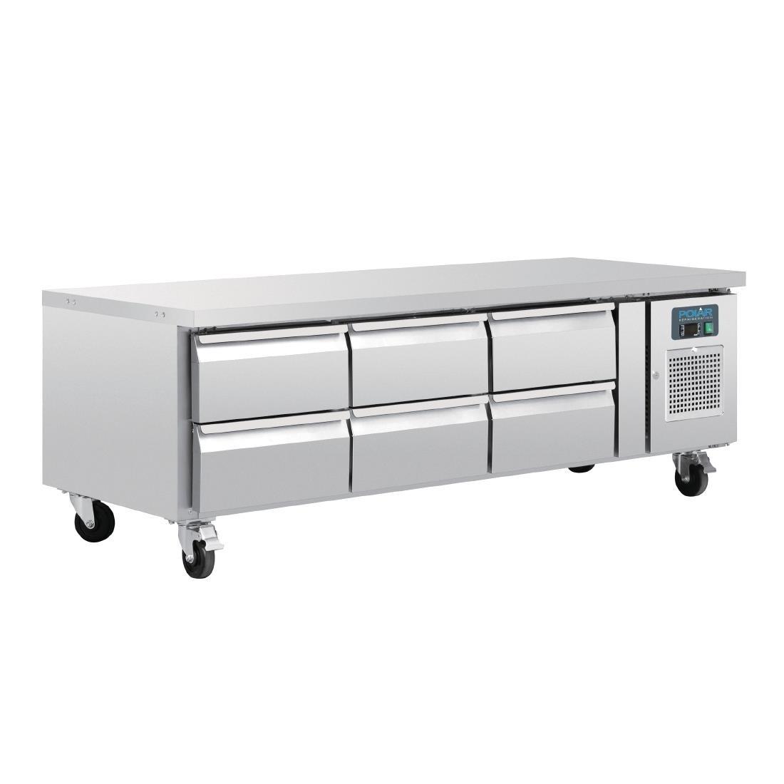 Polar DA465 U-Series Six Drawer Chef Base Fridge
