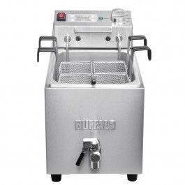 Buffalo DB191 Pasta Cooker with Tap and Timer - 8 Litres
