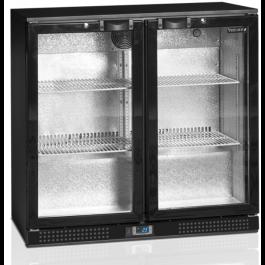 Tefcold DB200H Black hinged Door Bottle Cooler - 183 Litres