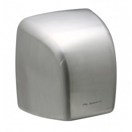 P+L Systems DV2100S Brushed Stainless Steel Washroom Hand Dryer